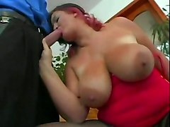 stockings cumshot hardcore blowjob mature redhead bigtits pussylicking fat pussyfucking cumontits bbw german