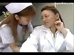 Busty Nurse Kissing Getting Her Nipples Sucked Rubbed By The Doctor At The Surgery