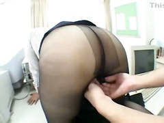 fingering pussylicking asian fetish pantyhose facesitting
