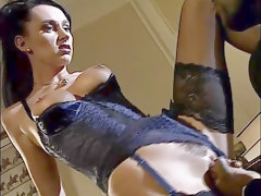 Anal Black and Ebony Stockings