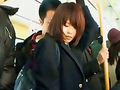 Asian Teen Public Bus VoyeurTeens 18  Cum Asian Voyeurism