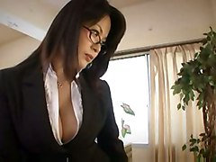 hardcore blowjob fingering glasses bigtits asian hairypussy pantyhose japanese jap