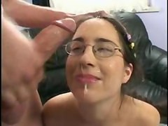 Teen With Glasses Facial