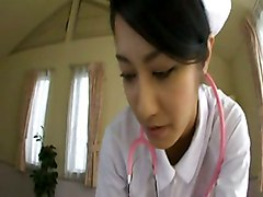 blowjob handjob uniform asian POV nurse japanese