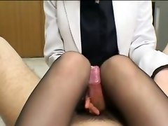 Feet Footjob Handjob PantyhoseBJ HJ Asian Feet