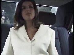 Karen Lancaume Taxi Stranger FeatureInterracial Porn Stars Classic Voyeurism