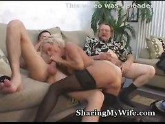 cumshot blonde petite milf mature wife young reality swinger cara cougar cuckold sharing ganny