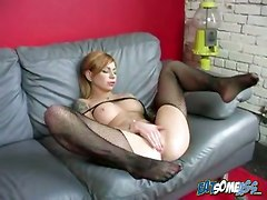 Eat AssBig Boobs Redhead Facial