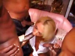 mom interracial gangbang black cock bbc blonde slut milf mature cumshot