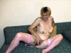 Hairy Matures Stockings