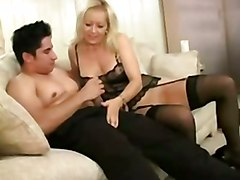 stockings cumshot facial hardcore blonde blowjob mature pussylicking lingerie pussyfucking oldandyoung olderwoman