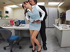 japanese  asian  office  office sex  office clothes  uniform  mini  mini skrt  upskirt  pantyhose  panties  panties off  dildo  hairy  small tits  cock ride  desk  moan