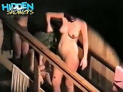 Webcam Spy Softcore Shower Public Voyeur Hidden MILF Pussy