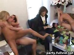 Dorm Room Fuck Party