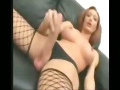 shemales tranny tgirl solo cumshots hung big cock