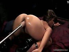 masturbation asian sybian machine