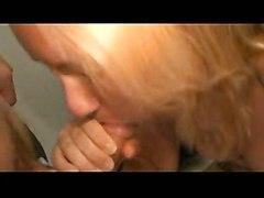 cumshot facial hardcore blonde blowjob fingering pussyfucking piercedclit