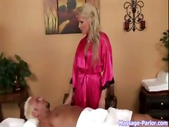 busty facial handjob massage 69