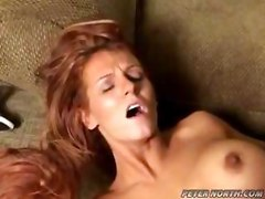 Hardcore Big Breast Red Head Huge dick Mature MILF Open Mouth Facial