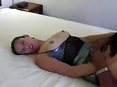 Black and Ebony Brunettes Cumshots