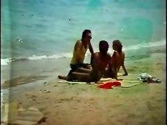 Beach Hairy Vintage