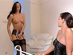 lesbians stripper seduction