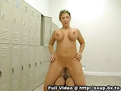Busty Milf In Lockeroom