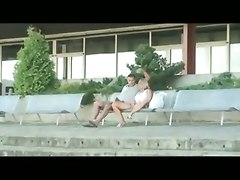 blowjob sex amateur public outdoor