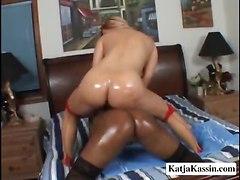 interracial big tits lesbian dildo