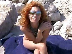Beach Group Sex Redheads