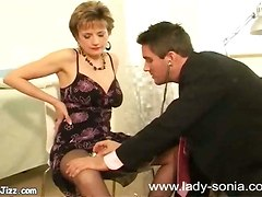 horny milf seduse fellate tits