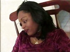 ebony teasing kissing big tits fingering pussylicking close up blowjob face fuck handjob deepthroat doggystyle ass tittyfuck brunette cumshot panties bbw chubby striptease amateur homemade