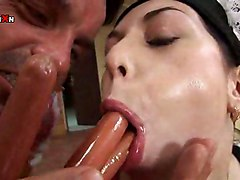 Isabella Brunette Anal Fisting Gaping Hardcore Anal Fisting Hairy