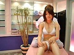 oiled asian voyeur massage