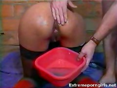 Hard sports laetitia anal play