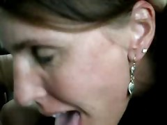 Cheating Milf Sucks Off A Stranger In The Parking Lot