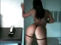 brunette fishnet solo tease stripping teasing softcore strip dance