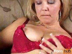 masturbation solo dildo blonde fingering