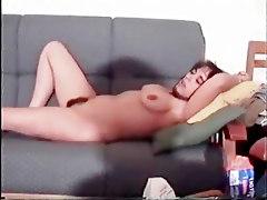 Hairy Lisa Masturbating