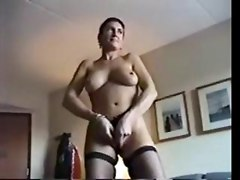 amateur homemade ass brunette lingerie fishnet stockings panties wet masturbation teasing big tits blowjob face fuck tight glasses big dick tattoo handjob cfnm milf