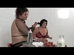 bbw fat lesbians fetish bizarre chubby tits bdsm bondage panties femdom mature food