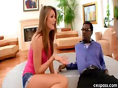 tori black teen pornstar interracial  HOT young teen pornstar Tori Black has a crush on her black stepdad  Before he comes home  she gets ready in a tight tank top with no bra  short shorts  and heels  Who WOULDN T want to fuck her   Watch this