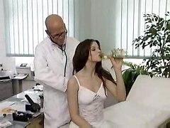 doctor sex pussy licking blowjob cum handjob