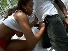 ebony dick sex blowjob pussy deep penetration