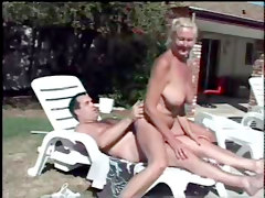 Pool-party With A Granny