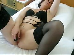 amateur homemade pussy stockings dildo toys tattoo piercing masturbation hardcore wet close up couple wife mature