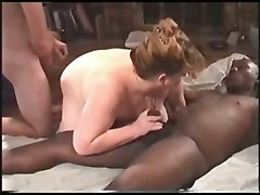 Bbw interracial orgy