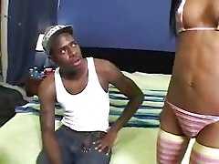 Black and Ebony Hardcore Teens