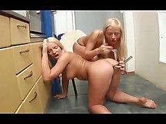 Lesbian Dildo Ass Boobs Toys Hot Girl Blonde TeenTeens 18  Lesbian Babes Ass