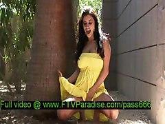 Alexa Loren, From Ftv Girls, Amazing Brunette Chick Outside